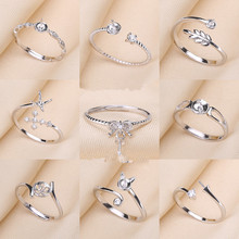 HOT CHEAP MIX STYLES Fashion Ring Set Accessories Findings Jewelry Parts Fittings Mountings for Pearls Beads Stones, 20pcs/lot