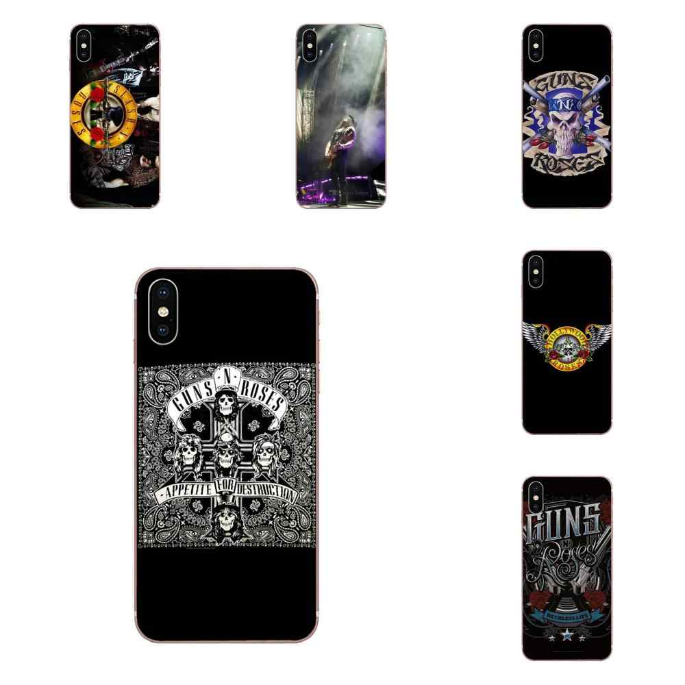 Мягкий чехол для Huawei P7 P8 P9 P10 P20 P30 Lite Mini Plus Pro Y9 Prime P Smart Z 2018 2019 Gnr Band guns N Roses Cross