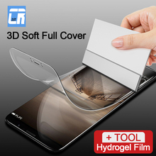 Not Glass 3D Curved Edge Soft Full Cover Hydrogel Protective Film for Xiaomi 6 6X 8 SE MIX 2 2s MAX 3 Note Screen Protector