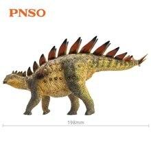 PNSO dinozaury zabawki Qichuan tuojangosaurus prehistoryczny Model zwierzęcia Dino klasyczne zabawki dla chłopców dzieci prezent