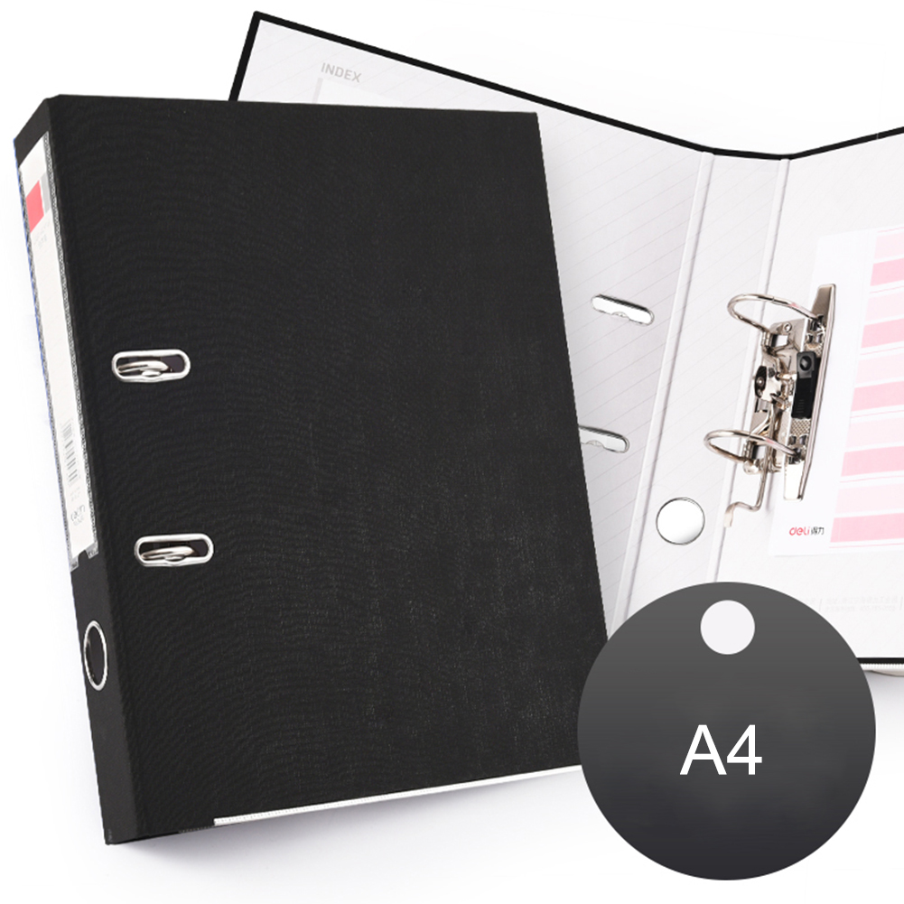 Fast Work Clip Paper A4 Three Inch Folder Punched Two Hole Folder 3 Inch 2 Holes Teaching Equipment For Office Supplies