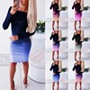 Women Casual Loose Dress Colors Spring Winter Boho Bow Full Long Sleeve Befree Mini Dress Plus Sizes Dresses Robe Femme 2020 1