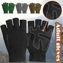 Перчатки для мужчин и женщин зимние перчатки с полуперчатками