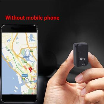 Magnetische Mini Auto Tracker Gps Real Time Tracking Locator Locator Magnetische Gps Voertuig Real-Time Apparaat Tracker D6S4 image