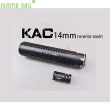 KAC – pistolet à balles d'eau, jouet amusant de sport de plein air, silencieux à dégagement rapide, 14mm, dent inversée, tube avant, bosse, accessoires MD42