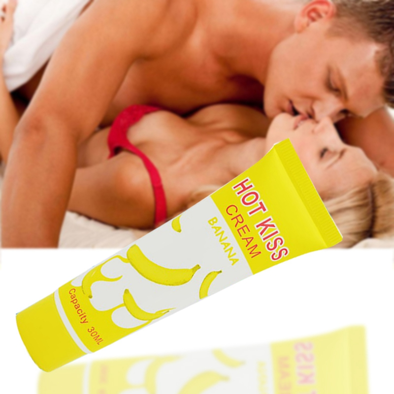 30ml Banana Flavored Personal Lubricant Gel Lube Edible Sex Enhancement Massage Oil Safety Lubrication Sex Oil Grease For Anus B