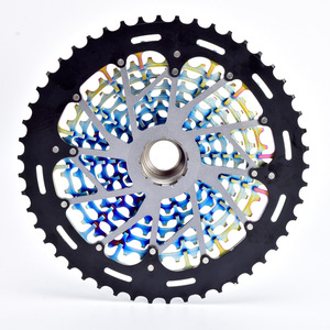 Image 2 - Rainbow MTB 12 Speed 9 50T XD Cassette Ultimate Colorful K7 12V ULT Cassette Ultralight Mountain Bike 12s Freewheel Bike Parts