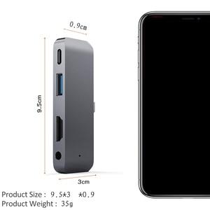 Image 2 - Usb 3.0 ポートタイプ c 携帯プロハブアダプタ pd 充電 4 18k 用の hdmi Note10 + のための ipad プロ huawei 社 Mate20