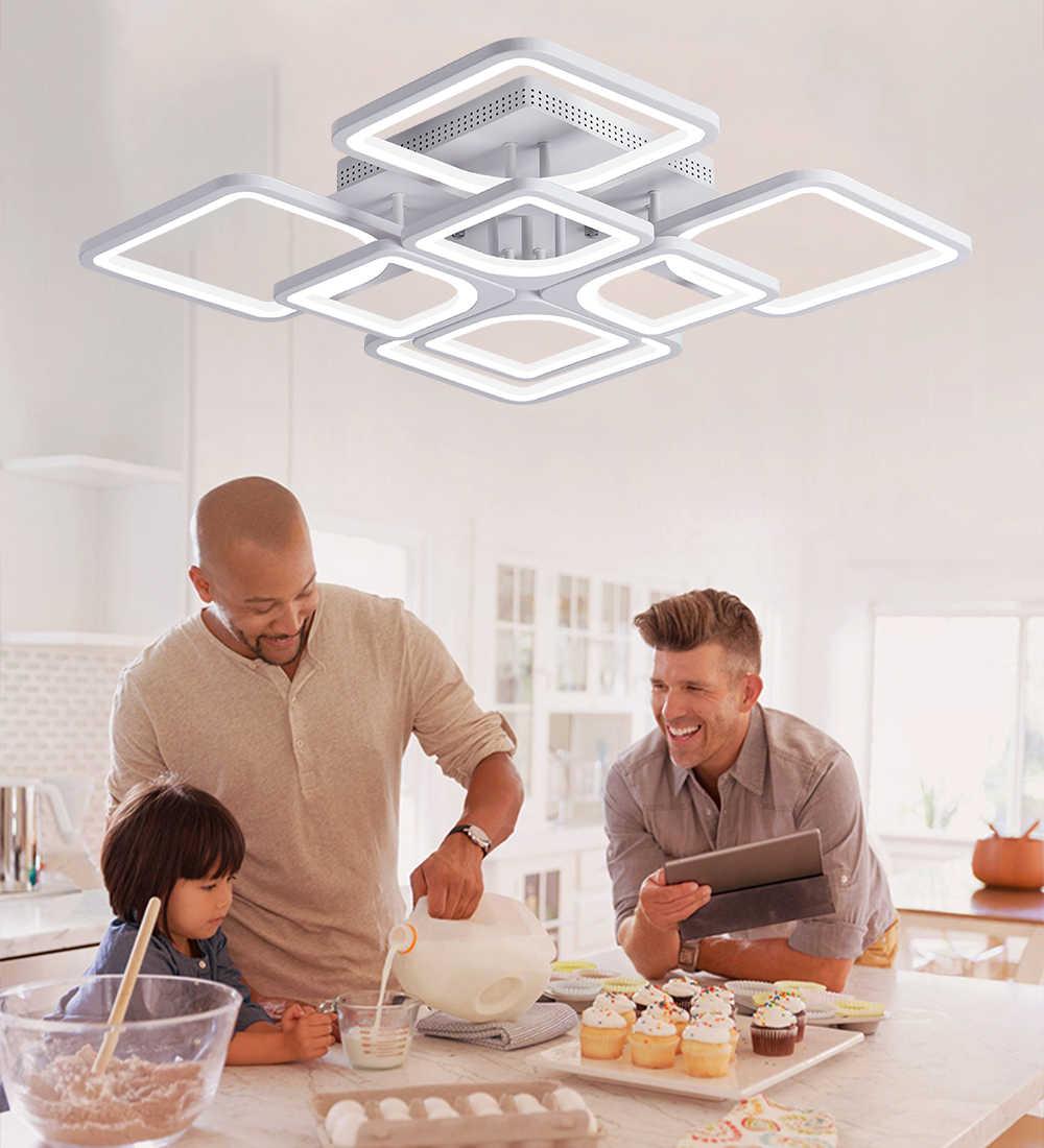 2019 nouveau led lustre pour salon chambre maison lustre para sala plafond moderne à LEDs lustre luminaires lustre