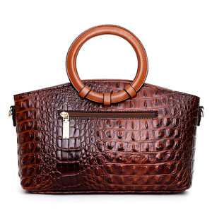 Image 4 - Gykaeo Luxury Handbags Women Bags Designer Crocodile Woman Leather Handbag Ladies Green Party Tote Shoulder Bags Sac A Main 2020