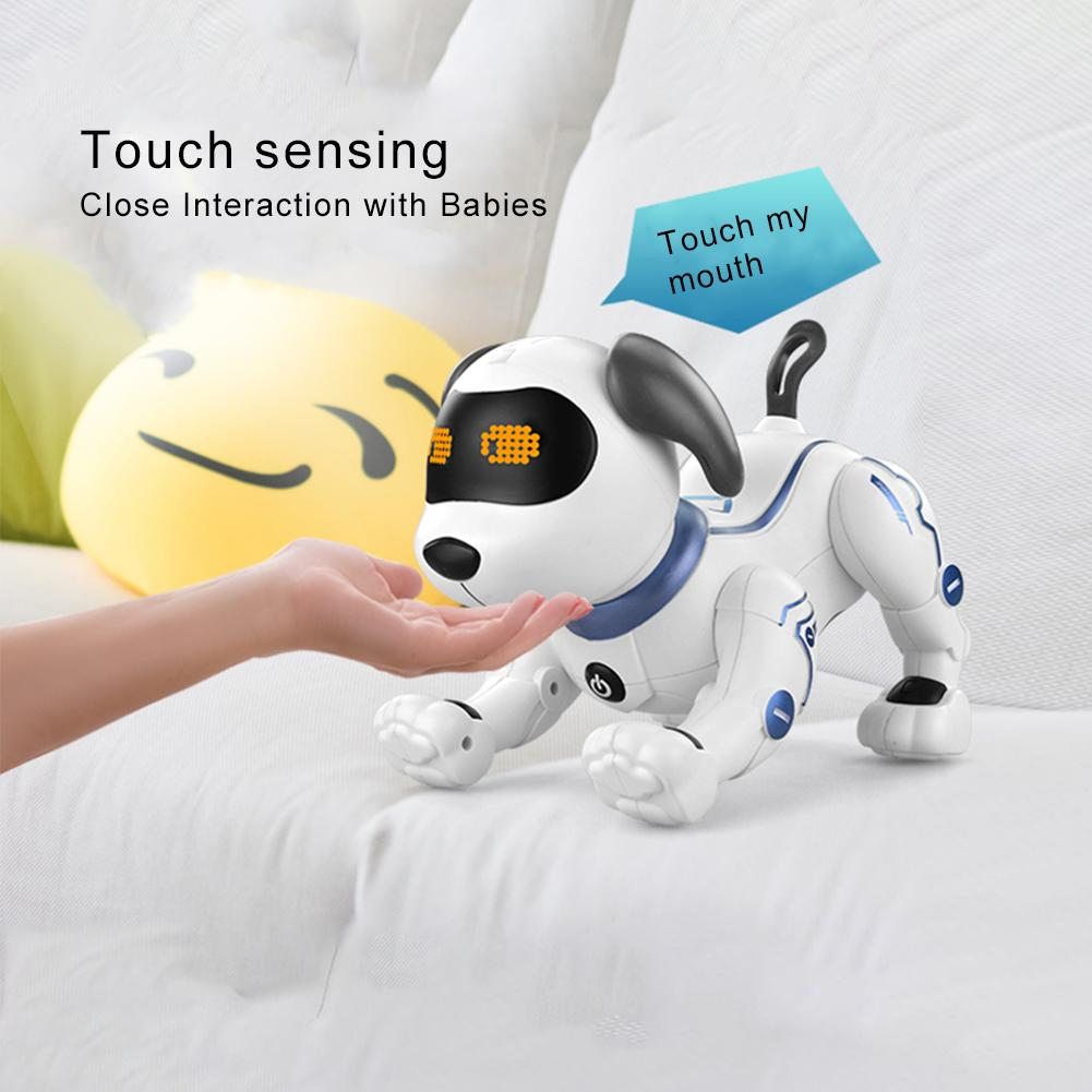 Gesture Following Induction Toy Dog Control Dog Smart Robot Electronic Pet Interactive Program Dancing Walk Robotic Animal Toys