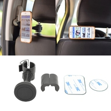 Universal 360° Rotation Car Seat Back Headrest Magnetic Smart Phone Holder Stand