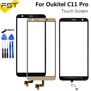 5.45''For Oukitel C11 Pro Touch Screen Digitizer Sensor Touch Panel Assembly Replacement For Oukitel C11 Pro Phone With Tools