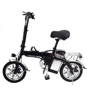 Wygodne 14 cal bateria elektroniczna rower 48 V 10AH materiał ze stopu aluminium maksymalna prędkość do 40 h europejski standardowy Adapter tanie i dobre opinie Innych As describe 52653562 Battery 48V 10AH 1320x260x650MM 40-50KM H 50-60KM 120KG 3-5H Battery Bike Support