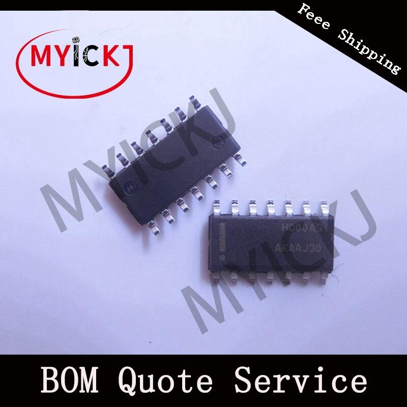 10PCS MC74HC00ADR2G  Quad 2-Input NAND Gate IC CHIP SOP14