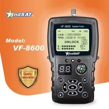 VF 8600 Satellite Finder Meter For Satellite Receiver DVB S2/DVB Satfinder With Compass sat Finder