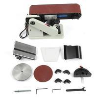 Belt Disc Sander Bench Grinder 6 Grinding Disc 4x36 Belt US Plug 110V Drill Bit Sharpener