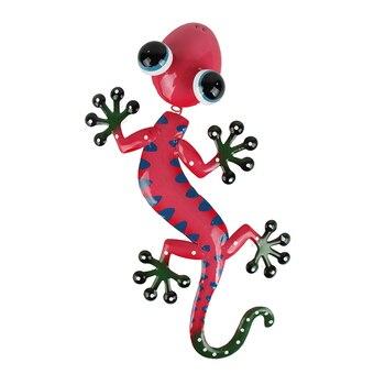 Liffy regalo Metal Gecko arte de la pared para el hogar y...
