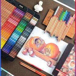 MARCO artystyczny Design profesjonalna kredka olejna malowanie przez uczniów specjalne żelazne pudełko kredki dla dzieci artykuły artystyczne dla artysty