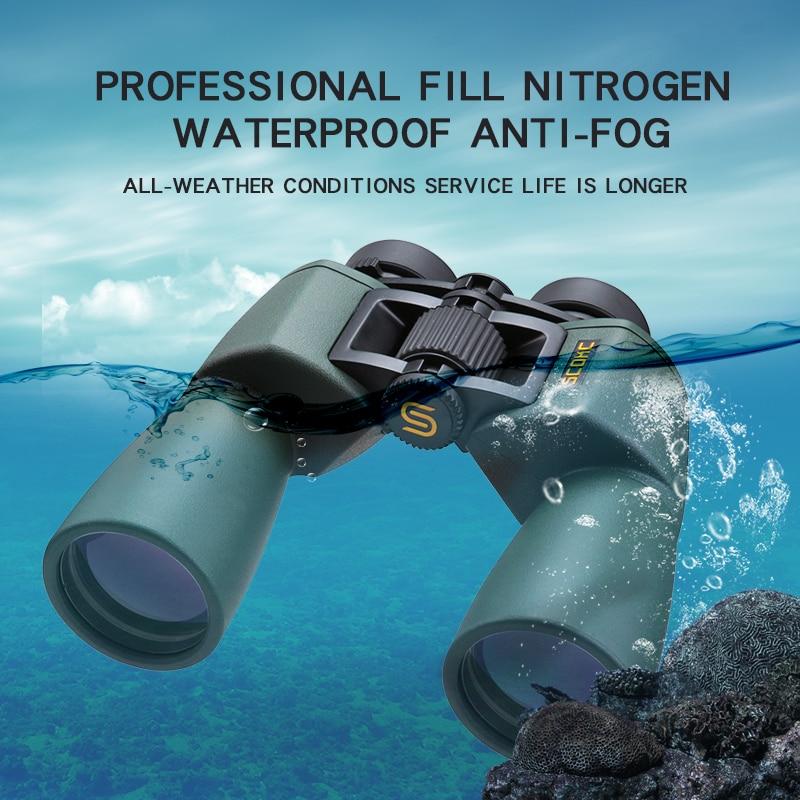 Image 4 - SCOKC Hd 10X50 powerful zoom Binoculars telescope for hunting  professional high quality no Infrared army Low night  visionMonocular/Binoculars