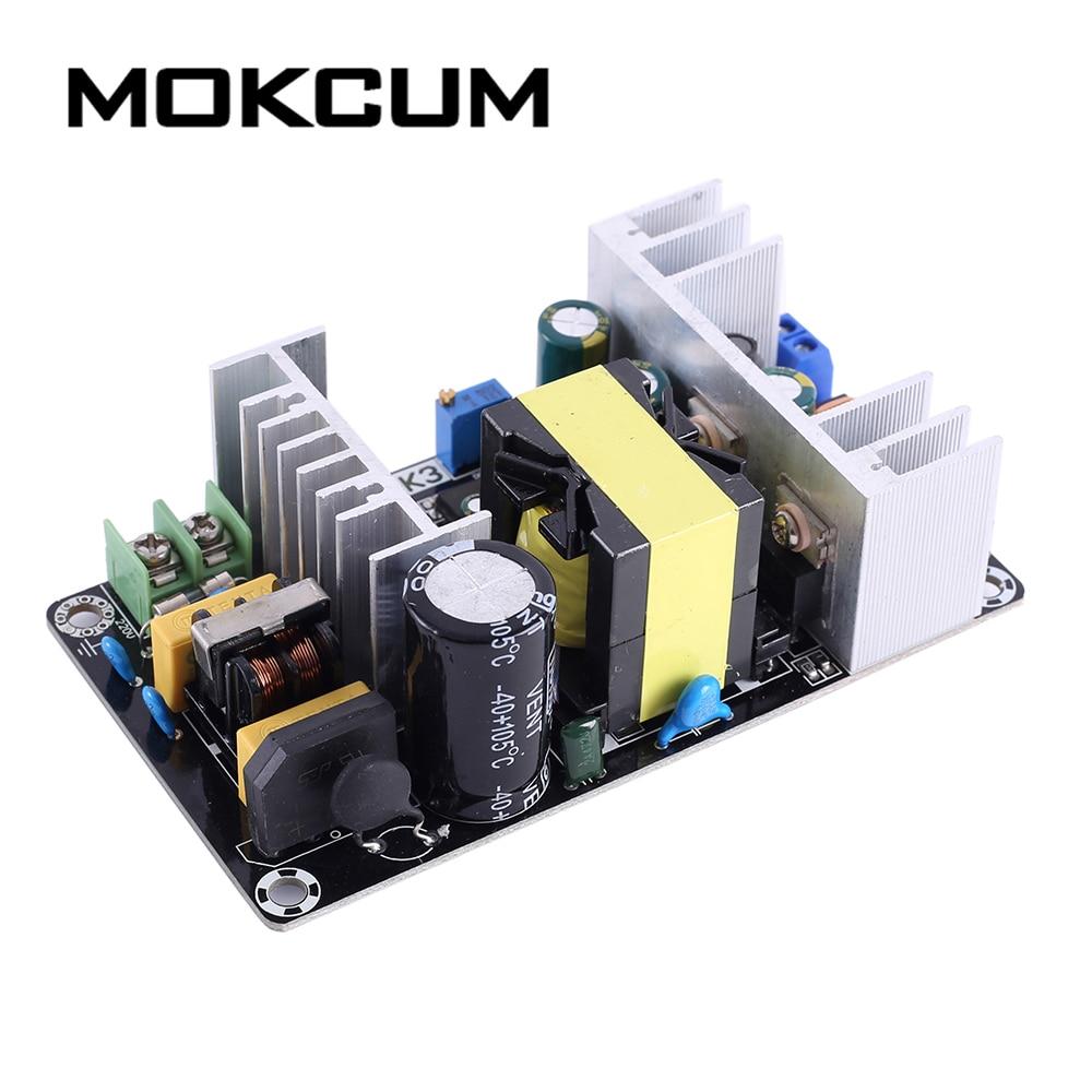 Dual Power Supply Module Adjustable Buck Step Down Module AC-DC Converter AC 110V 220V to 1.25V-31V/5A 18V-33V/6A 180W