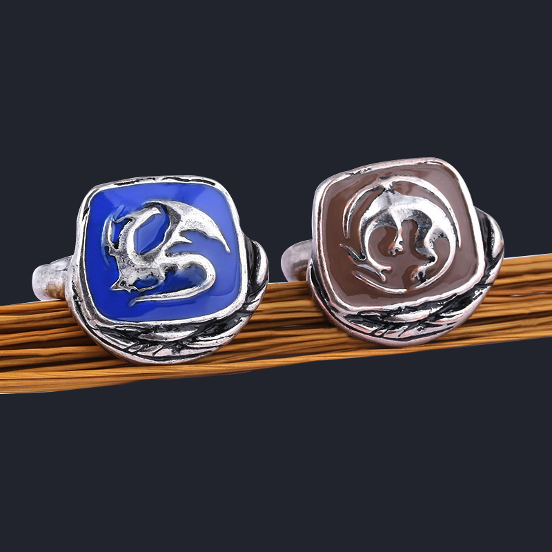 SG Hot Sale Dark Souls Rings Young Dragon Ring Game Finger Ring For Men Women Fans Souvenir Gift Dropshipping Jewelry
