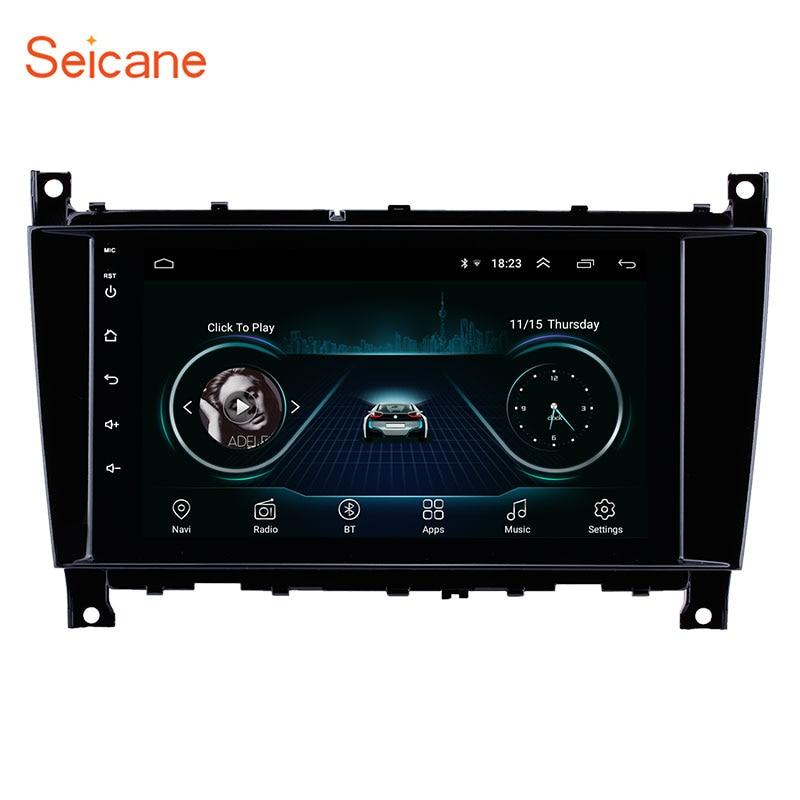Seicane 8 дюймов Автомобильный радиоприемник с навигацией GPS Android 8,1 для Mercedes Benz G Class W467 G550 G500 G400 G320 G270 G55 2005 2006 2007