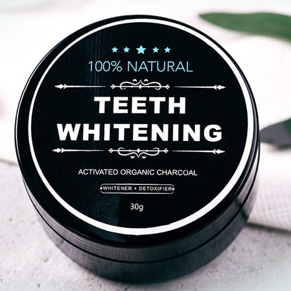 Yellow Teeth Whitening Powder Natural Activated Charcoal Powder with Activated Coconut Shell Charcoal Teeth Whitening Toothpaste 5