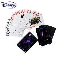 Disney-Juego de cartas de los Vengadores de Frozen para niños y adultos, cartas de papel, juegos de mesa informales