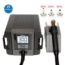 الأصلي السريع TR1300A ذكي محطة اعادة تشغيل الهواء الساخن بغا محطة لحام الهاتف المحمول اللوحة PCB محطة لحام