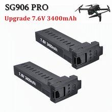 Batería Original para Dron SG906 PRO/X193 PRO/X7 PRO, GPS, 7,6 V, batería de 3400mAh, sin escobillas, Quadcopter, accesorios de repuesto para Drones