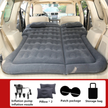 Inflatable Sofa Air-Mattress Travel-Bed Camp Pillow Sleep-Mat Car-Back-Seat SUV Outdoor
