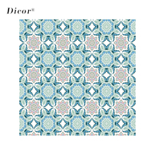 2M Decorative Window Films PVC Static Cling Stained Privacy Protective Thermal Insulation Glass Stickers Frosted Sticker