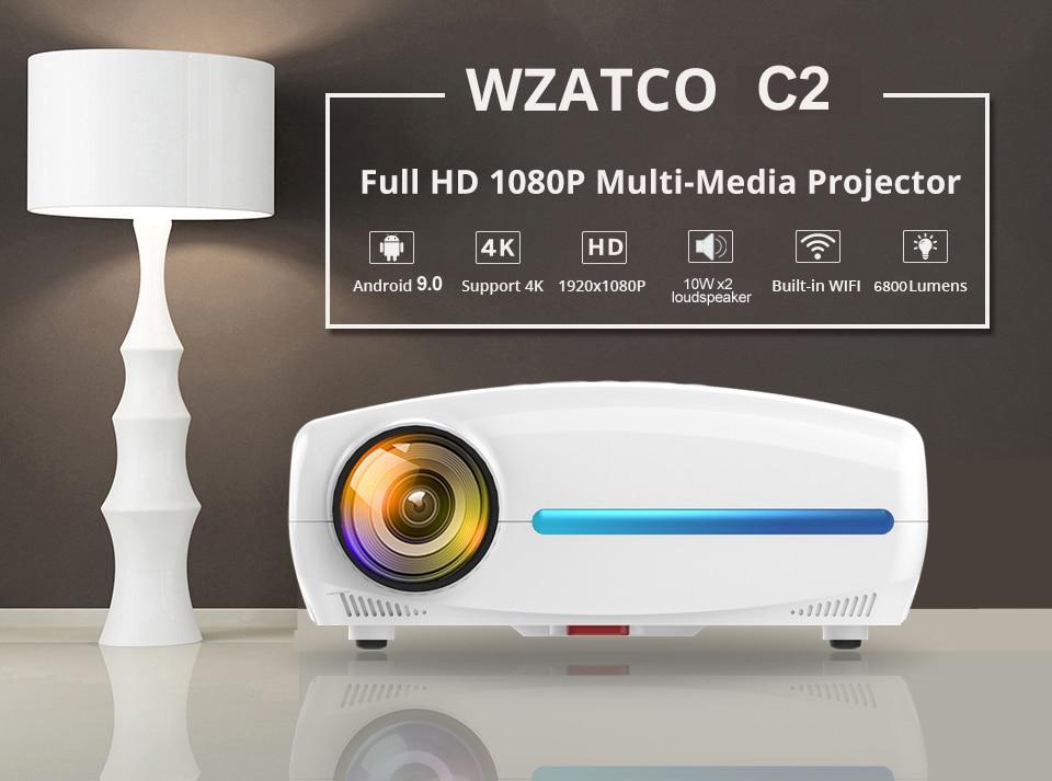 WZATCO C2  Full HD projector