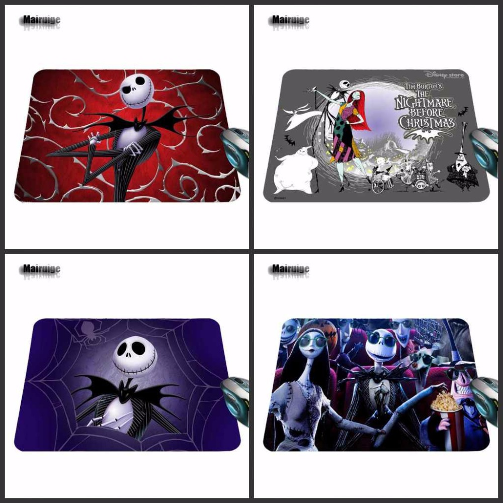 Mairuige 2018 Hot Sell Print Anti-slip Durable Jack Computer Gaming Anime Rubber Mouse Pad Gamer Play Mats Size For 18X22cm