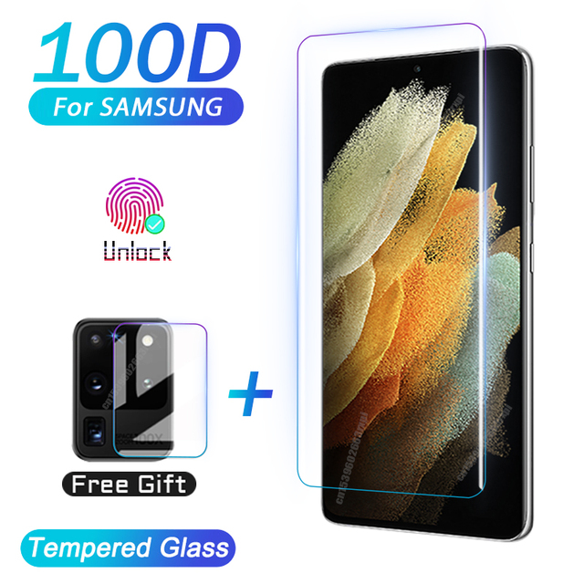 Tempered Glass For Samsung Galaxy Note20 Ultra S10 E S9 S8 S20 S21 Plus Screen Protector Note 20 S 21 10 9 8 S10E S 20 5G Film