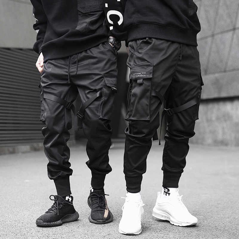 Pantalones Cruzados Para Hombre Mono De Paracaidistas Tactico Pantalones Ajustados Informales Para Estudiantes Para Otono 2019 Pantalones Tipo Cargo Aliexpress