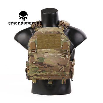EMERSONGEAR Quick Release LAVC Tactical Vest MOLLE Multicam ASSAULT PLate Carrier Tactics Shooting Hunting Airsoft Paintball