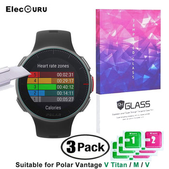 Polar Vantage Smartwatch Screen Protector HD Tempered Glass Film For Polar Vantage M,Vantage V,Vantage V Titan Smart Accessories фото