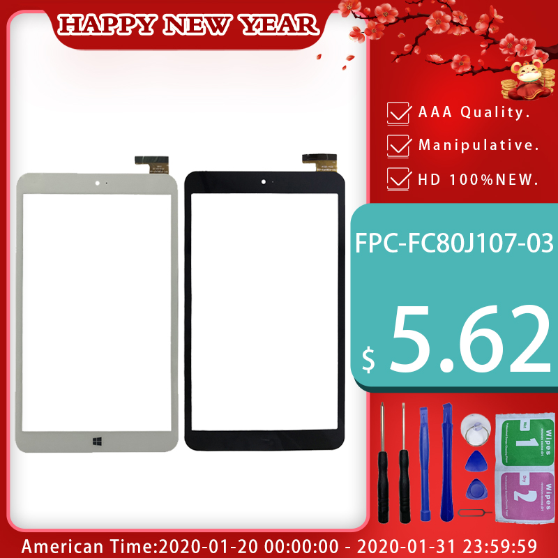 1PC for new I10 dual system external screen touch screen XN-1572-B FPC-106001B