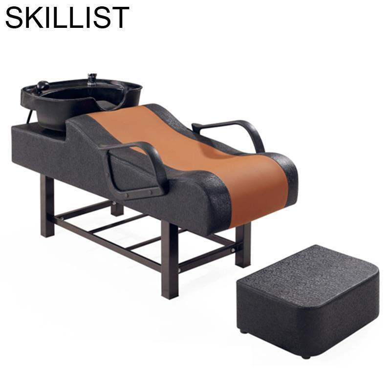 Cabeleireiro Bed For Beauty Hairdresser Makeup Lavacabezas Cadeira Maquiagem Hair Salon Furniture Silla Peluqueria Shampoo Chair