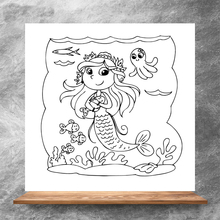 ZhuoAng Mermaid Princess Clear Stamps/Silicone Transparent Seals for DIY scrapbooking photo album Clear Stamps