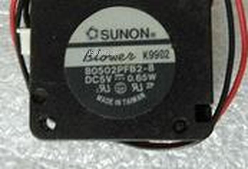 For B0502PFB2-8 DC 5V 0.65W 25x25x10mm Server Cooler Fan Free Shipping