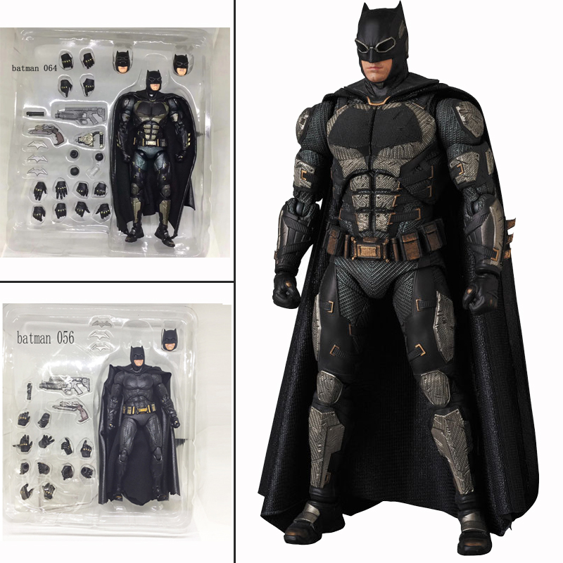 6ihch The Dark Knight DC Justice League Mafex 064 Batman Tactical Suit Version Action Figure Collection Toys Doll Gift