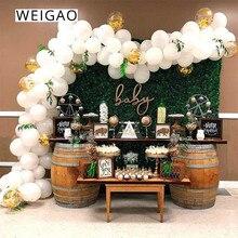 WEIGAO 113pcs Balloon Garland Kit Wedding Latex Balloons Arch Birthday Party Backdrop Decoration Baloon Chain Baby Shower