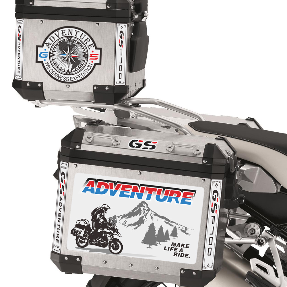 Stickers Trunk For BMW F700GS F <font><b>700</b></font> <font><b>GS</b></font> ADV Tail Top Side Luggage Aluminium Cases Decal Adventure Motorcycle 2015 2016 2018 <font><b>2017</b></font> image