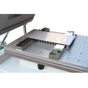 Image 3 - 表面実装エレクトロニクス YX3040 デスクトップ自動シルクスクリーン印刷機半自動シルクスクリーン印刷 pnp 機システム