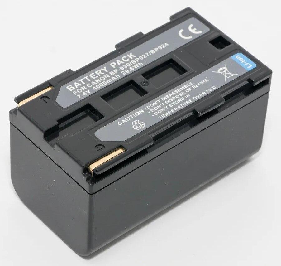 Аккумуляторная батарея BP-924 для видеокамеры Canon UC-V20, UC-V30, UC-V200, UC-V300, UC-V400, UC-V420