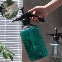 2l pressão de ar manual rega pulverizador jardinagem pressão rega pode retro pulverizador rega transparente