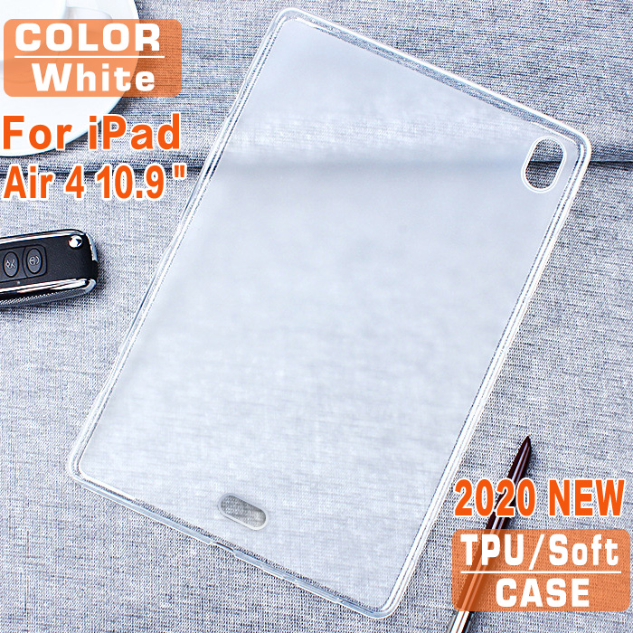 CASE-White Red For 2020 Apple iPad Air 4 10 9 TPU Tablet Case For iPad Air 4th generation